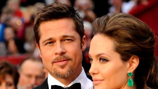 """Divorţ la Hollywood! Angelina Jolie şi Brad Pitt îşi spun """"Adio"""""""