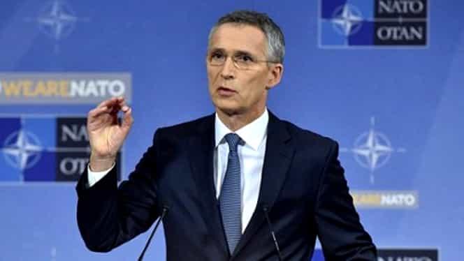 Șeful NATO, Jens Stoltenberg, vine la București! Cine va participa la reuniune