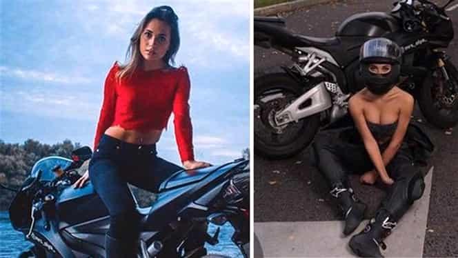 Olga Petrova, cea mai sexy motociclistă din Rusia, a murit la 22 de ani