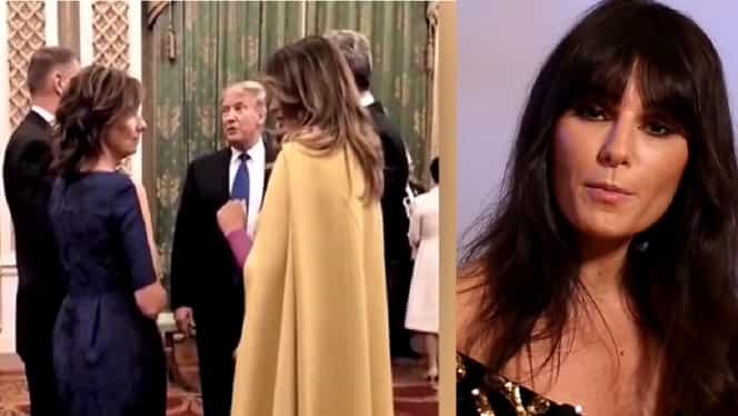 """Dana Budeanu critică ţinuta purtată de Carmen Iohannis, la Londra: """"N-o va eclipsa niciodată pe Melania Trump"""""""
