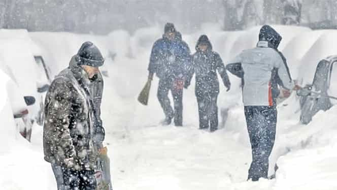 Prognoza meteo sambata,15 decembrie. Iarna se dezlănțuie