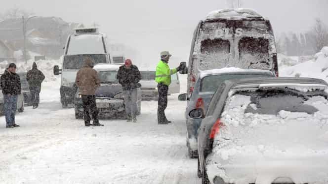 Ultima oră. Un nou val de ger şi ninsoare loveşte România