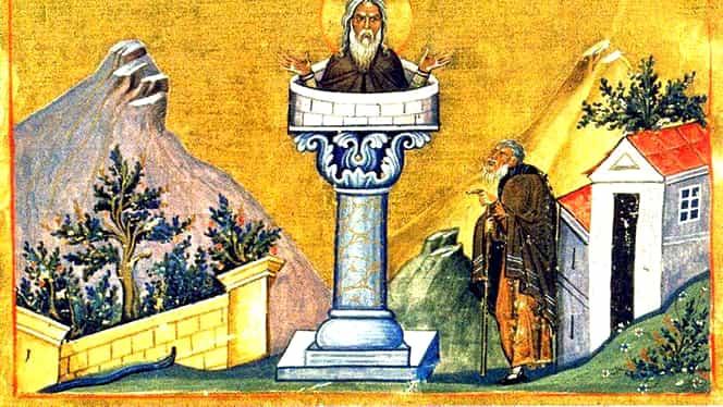 Calendar ortodox: miercuri, 11 decembrie. Sunt pomeniți 2 sfinți: Daniil Stâlpnicul și Luca cel Nou Stâlpnicul