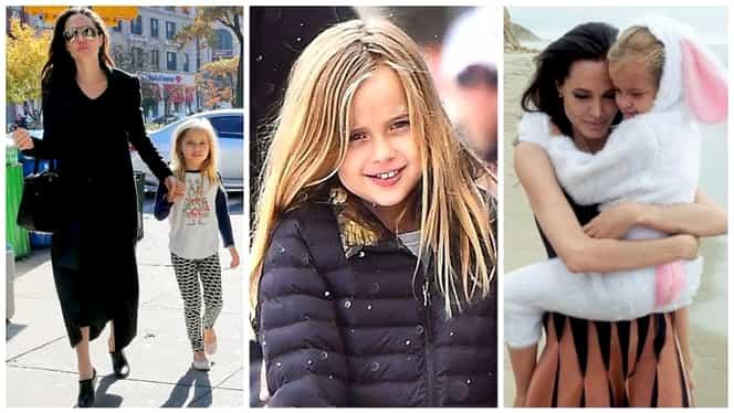 Cum arată fetița cea mică a Angelinei Jolie cu Brad Pitt. E la fel de frumoasă ca mama ei