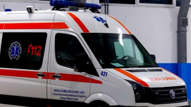 Accident cu 5 victime în Bacău. Printre victime sunt doi copii