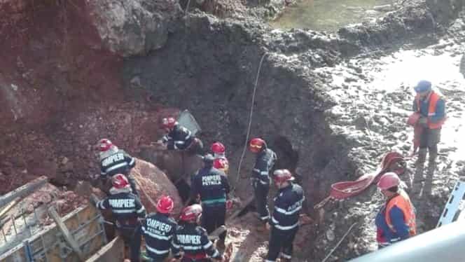GALERIE FOTO. Accident de muncă groaznic lăngă Petroşani. S-a declanşat planul roşu