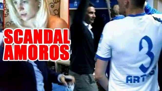 Scandal AMOROS în Liga 1! E vorba de un club care se bate la TITLU! Soţia fotbalistului, filmată făcând SEX cu prietenul cel mai bun al soţului