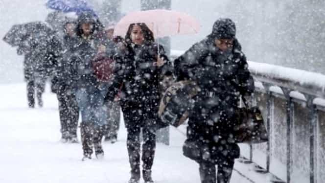Prognoza meteo miercuri, 27 februarie! Vremea în București, Iași, Constanța, Brașov sau Cluj: lapoviță și ninsoare
