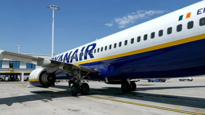 Avionul Ryanair de Londra a aterizat de urgență pe Aeroportul din Otopeni. Video
