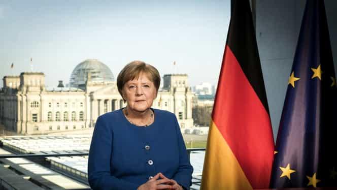 """Angela Merkel, declaraţie dură în lupta cu ameninţarea coronavirusului: """"Germania se confruntă cu cea mai mare provocare după al Doilea Război Mondial"""""""