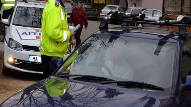 Razie a Poliţiei Rutiere din Capitală! Ce au putut să găsească poliţiştii în trafic