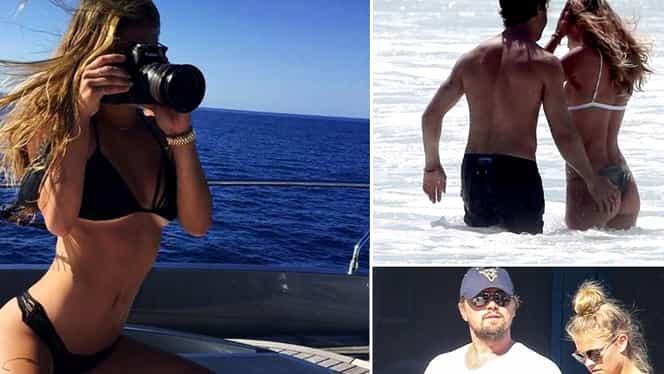 Foto. Cum a fost surprinsă fosta iubită a lui DiCaprio