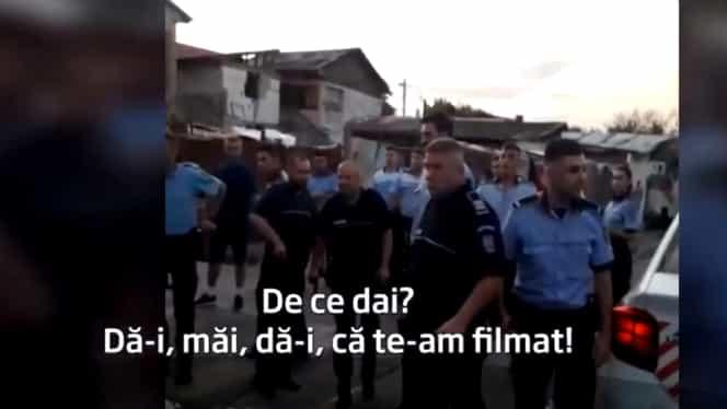 Scandal în București. Tânăr, bătut de jandarmi după ce a fost confundat cu un tâlhar