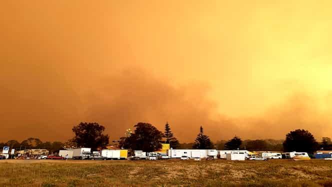 O nouă amenințare pentru Australia, după incendiile devastatoare. Vestul țării-continent va fi lovit de un ciclon uriaș