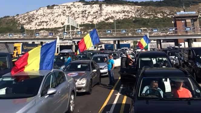 Românii din diaspora se pregătesc de protestul din 10 august! Imagini cu coloanele de masini