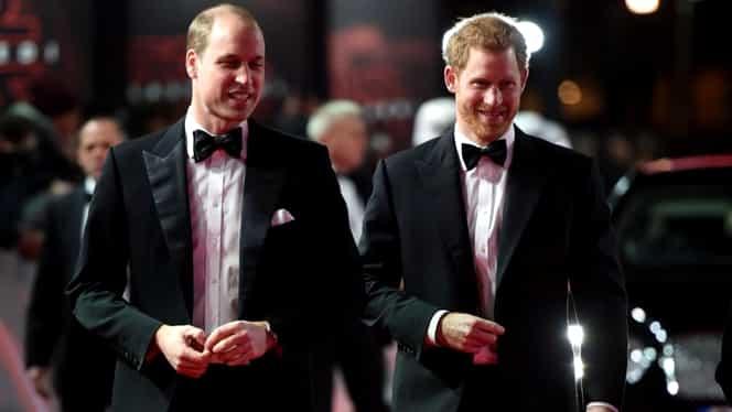 """Prinţii Casei Regale Britanice, la premiera peliculei """"Star Wars: The Last Jedi"""". Au jucat şi ei!"""