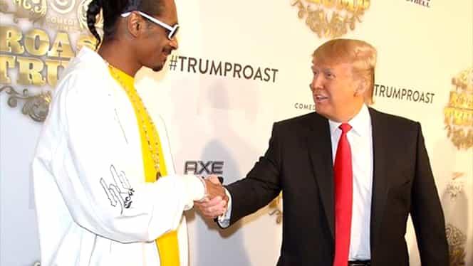 """Snoop Dogg, lângă cadavrul lui Donald Trump. Este coperta noului album """"Make America Crip Again"""""""