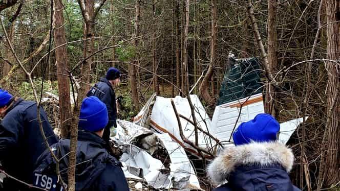 Avion prăbușit în Canada! Nu există supraviețuitori în urma tragediei aviatice