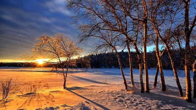Prognoza meteo pentru weekendul 27-28 ianuarie. Vremea se încălzeşte uşor