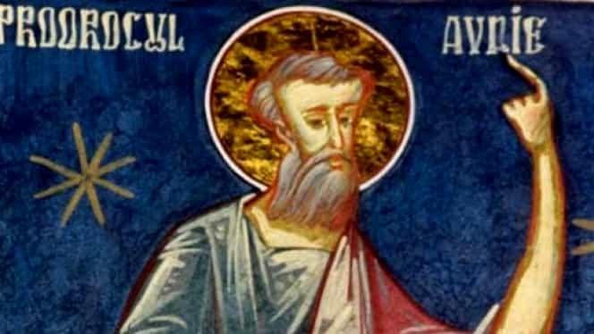 Calendarul ortodox 19 noiembrie. Sfântul Proroc Avdie(Abdia)