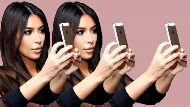 Cum sa faci un selfie perfect! Învaţă de la Kim Kardashian!