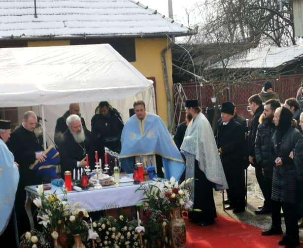 Înmormântarea Bulibașei din Gilău! I-au ținut slujba în palatul de 32 de camere
