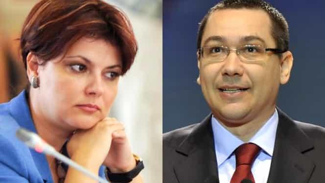 """Lia Olguța Vasilescu, atac dur la adresa lui Victor Ponta! """"Spune că are telefonul plin cu mesaje de la pesedişti. Să se uite în frigider, că acolo va găsi urările noastre"""""""