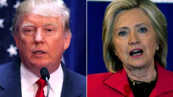 Alegeri in SUA: Donald Trump se apropie de Hillary Clinton in sondaje