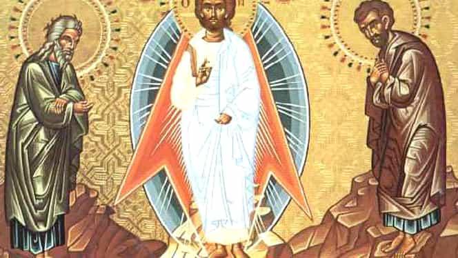 Calendar ortodox, 6 august: Schimbarea la Față a Domnului Iisus Hristos