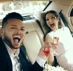 Gabriela Cristea și Tavi Clonda fac nunta religioasă. Cine sunt nașii și cine este domnișoara de onoare