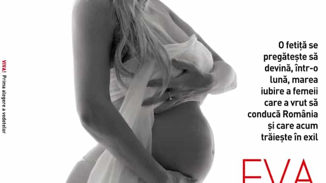 """Elena Udrea, interviu și fotografii sexy, în luna a 8-a de sarcină! """"Am cerut îndrumare de la Dumnezeu"""""""