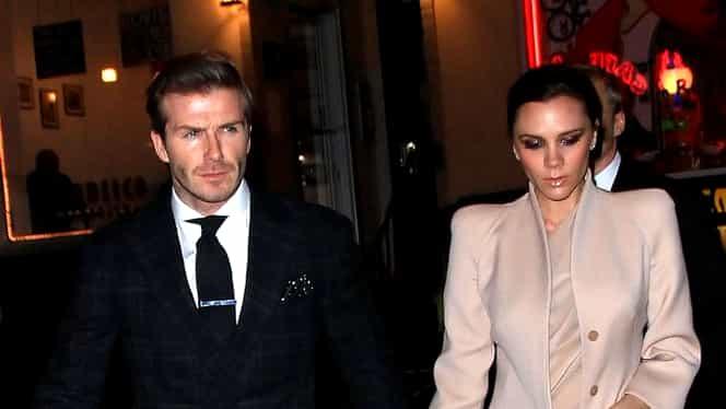 Divorţ în familia Beckham? Victoria şi-a şters tatuajul pentru David