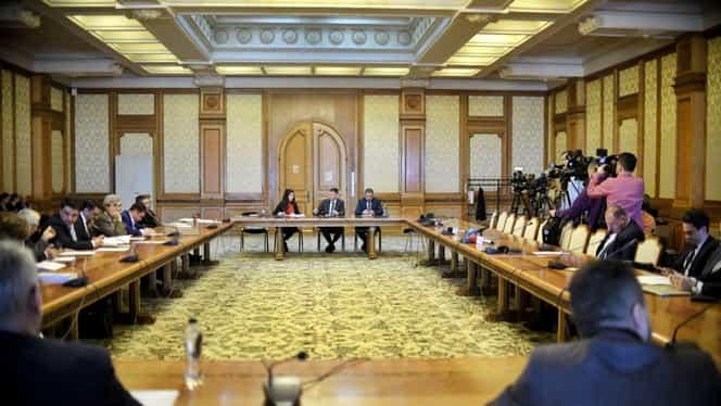 Ultima serie de audieri pentru Guvernul Orban 2! Cinci miniștri dau explicații parlamentarilor. UPDATE