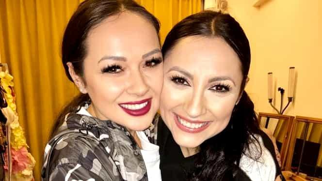 """Andra și Vlăduța Lupău, ca două picături de apă! Fanii, convinși că cele două artiste sunt rude: """"Ce mult semănați! Două surori frumoase"""""""