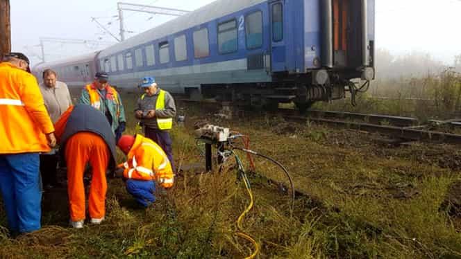 Panică la Gara de Nord! Un tren cu 200 de pasageri a deraiat la ieşirea din gară!
