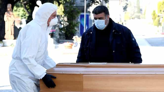 """Companiile funerare din provincia Bergamo nu mai fac față cererii: """"O generație a murit în două săptămâni"""""""