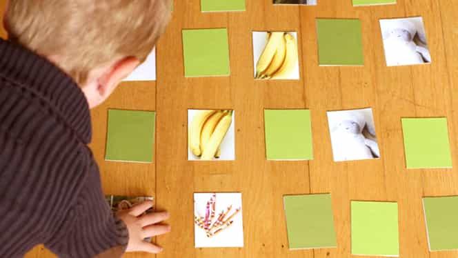 Dezvoltă memoria copilului tău prin mai multe metode simple şi distractive