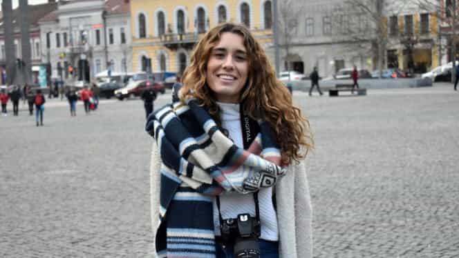 Motivul pentru care o tânără din Spania a ales să fie cetățean român în Cluj! Poveste de film