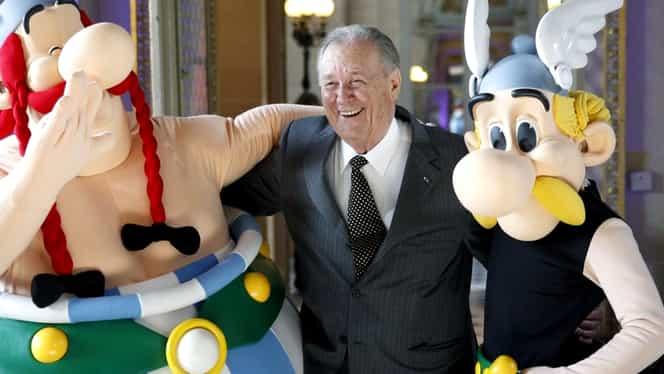A murit Albert Uderzo, creatorul celebrelor personaje Asterix și Obelix! Avea 92 de ani