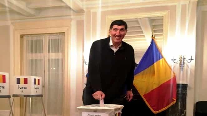 Baschetbalistul Ghiță Mureșan a votat în SUA. Prezență uriașă la vot la alegerile prezidențiale, în primele două zile în Diaspora