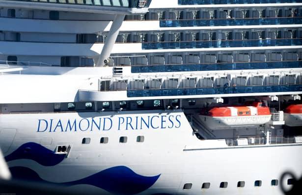 COVID-19 prezent și după 17 zile pe nava Diamond Princess!. Diamond
