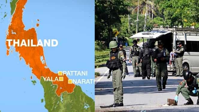 Atac armat în Thailanda soldat cu 15 morți. Poliție: A fost comis de separatiștii insurgenți musulmani – Video