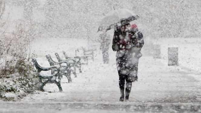 Prognoza meteo miercuri 28 noiembrie: temperaturi de -11 grade