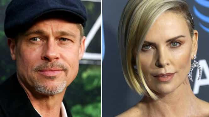 Cel mai nou cuplu de la Hollywood: Brad Pitt se iubește cu Charlize Theron, la 3 ani după despărțirea de Angelina Jolie