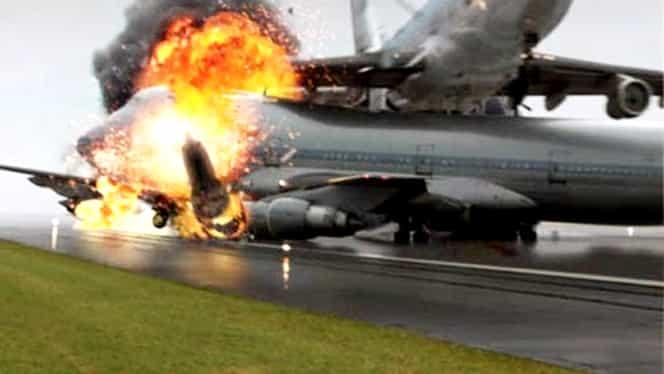 Accident aviatic! Două avioane militare s-au ciocnit. Un pușcaș marin a murit