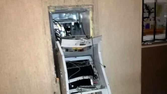 Un bărbat în vârstă de 37 de ani a fost arestat după ce un bancomat din Constanța a fost aruncat în aer