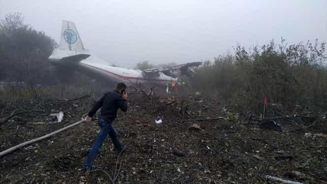 Cel puțin cinci morți, după ce un avion de marfă s-a prăbușit în Ucraina
