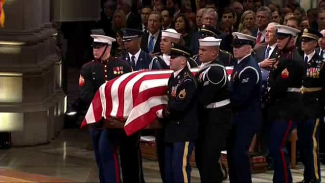 Discursul fiului George Bush Jr: Cum și-a luat adio de la tatăl său