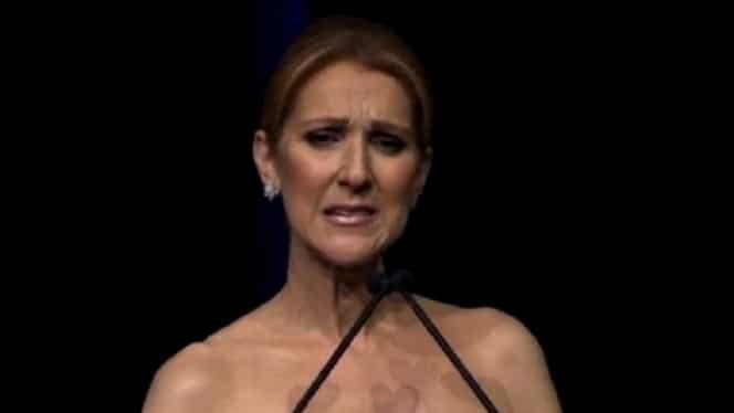 """Nu s-a putut abţine şi a izbucnit în plîns! Celine Dion, declaraţii sfîşietoare la ceremonia în memoria soţului ei: """"Simt dragostea lui în această încăpere!"""""""