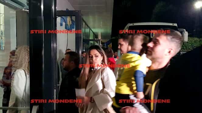 Cum a apărut nora lui Liviu Dragnea, Gina, la meciul României U21. A venit alături de Valentin Dragnea. FOTO